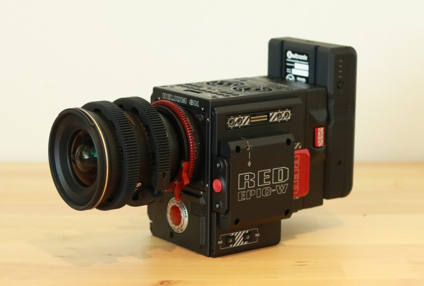 Red Epic-W 8K for hire
